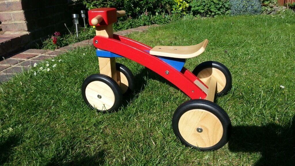 Wooden trike John Lewis