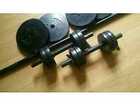 Standard Weights, Dumbell and Barbell