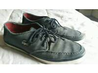 Lacoste shoes Size 8 worn Grey