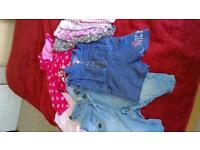 baby girls clothes 9-12