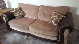 3 seater sofa and swivel £250 ono
