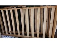 2 x Wooden Beds FREE .COLLECTION ONLY