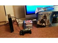 PS4 Boxed, 2 Controllers, 9 Games