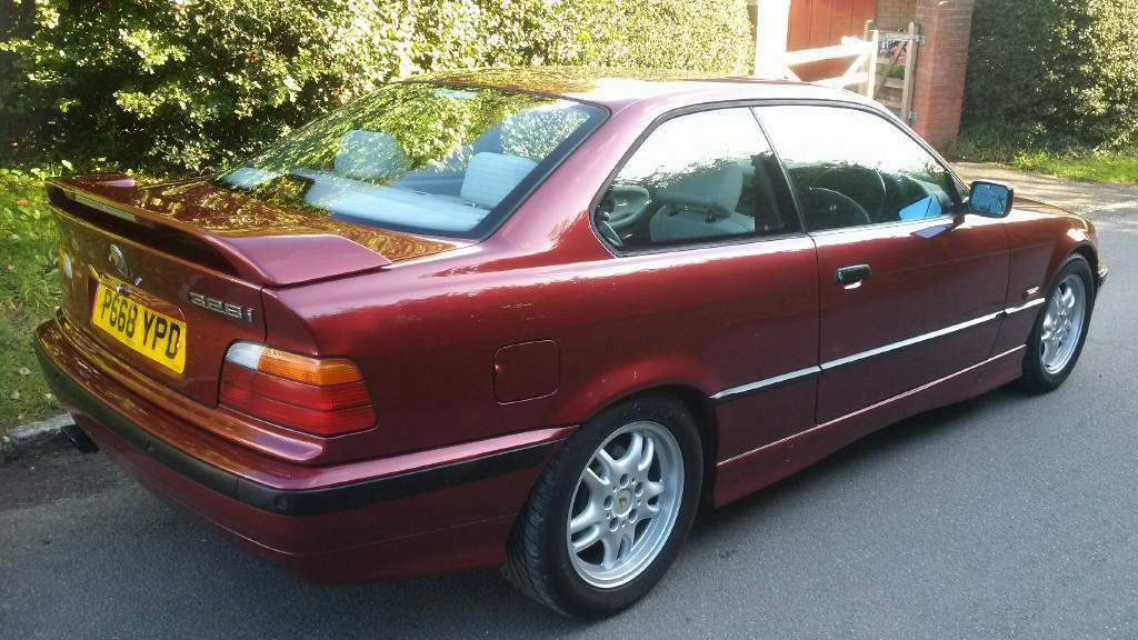 Bmw 328i Coupe E36 Calypso Red Heated Seats In High