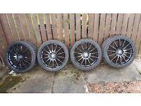 "19"" alloys with tyres mazda nissan honda lexus 5/114.3"