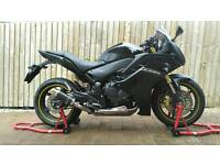 Honda CBR600F ABS 2012 Black 9700miles lovely motorbike