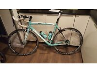 bianchi c2c via nirone reparto corse road bike with campagnolo groupset. 54cm