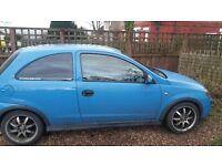 54 Plate Vauxhall Corsa 1.0 litre petrol