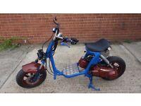 125cc custom scooter