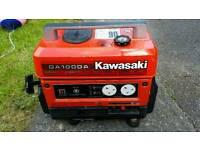 KAWASAKI GENERATOR HARDLY EVER USED GA1000