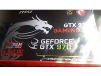 GTX 970 MSI - Nvidia Graphics Card - 4GB