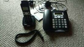 Silver Crest SGKT 50 A2 dual handset home telephone