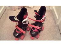 Osprey Boys Adjustable Quad Roller Skates Size 1-3