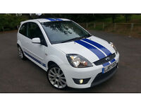 Ford Fiesta ST 150, Rare White, 75k, Long Mot, Service History, Part Leather & 2 Keys £3195 Reduced
