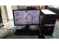 Desktop Computer complete set up