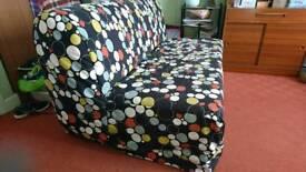 Ikea double futon and cover