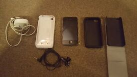I phone 4s 16gb with accessories