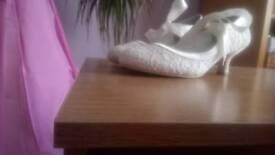Size 6 (39) Bridal shoes