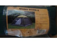 2 person Camping tent /Camping shower/camping stove /camping light
