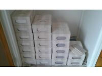 Laura Ashley Artisan wall tiles 150x75mm joblot 440 tiles