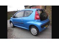 2007 Peugeot 107 1L 3Dr Petrol Manual (1 years MOT) LOW MILES!!!
