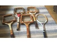 Vintage rackets (offers accepted)
