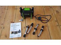 Salamander CT 50 Xtra Twin Outlet Shower Pump 1.5 Bar - SCT50XTRA - Brand New