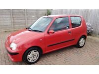 RED FIAT SEICENTO FOR SALE