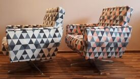 Armchairs - Two original classic 1960's