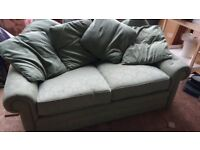 Laura Ashley Green Sofa