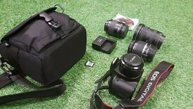 Canon 550d - barely used (church owned)