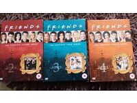 Friends series 2, 3 & 4
