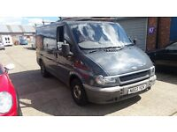 Ford transit with full mot