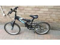"""20"""" wheel full suspention bike"""