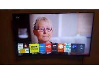 Samsung UE55JU6500 Curved 55 inch 4k Ultra HD Smart TV - Freeview HD - Freesat HD