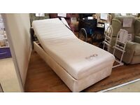 Ex-Demo MiBed 'Perua' Adjustable Motorised Single Bed (3 ft), Delivery Available