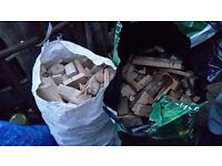 Bags of wood off cuts