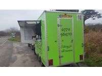 Catering trailer, very good condition
