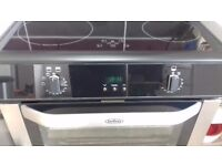 Belling double electric oven with induction hob.