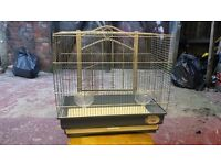 bird cage budgies, canerys, finches, parro...