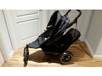 Phil and Teds Double buggy with cocoon!!!