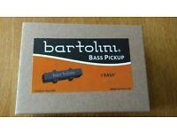 Bartolini Bass Pickups 59CBJD-L1 for a Fender Jazz 5 String style bass Upgrade