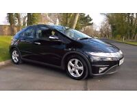 2008/57 HONDA CIVIC 2.2 CTDi 5 DOOR, FSH, FULL MOT