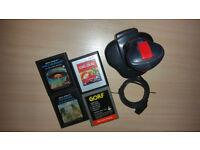 Atari 2600 Games Bundle and QuickShot Joystick