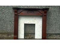 fire surround and back panel FREE