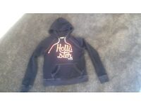 Ladies Hollister Blue Hoodie-Size Small. As New