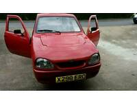 Robin reliant new shape mot 6 month