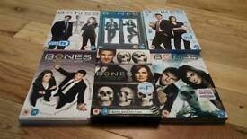 Bones DVD Series 1-6