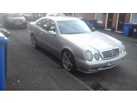 MERCEDES-BENZ CLK 230 KOMPRESSOR AUTOMATIC IN GREAT CONDITION MOT 11 MONTH MAY P/X