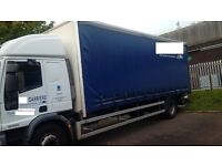 2006 18T Iveco Truck Curtain For Sale- Lez Exhaust Fitted- (So Can Go Into London)